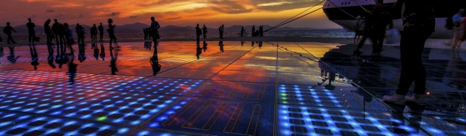 Zadar - mystische Meeresorgel und schönster Sonnenuntergang