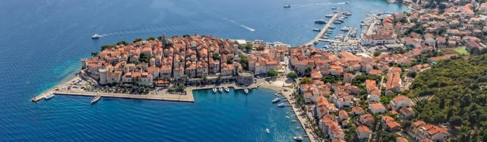 Korčula - die Stadt Marco Polos