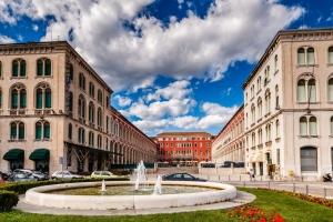 Prokurativen und der Platz der Republik (Split)