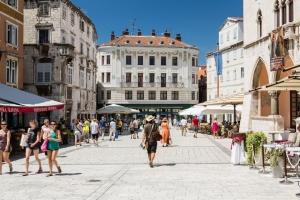 Platz des Volkes in Split (Narodni Trg)
