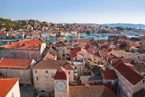 Der historische Stadtkern Trogirs