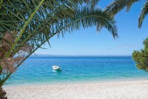 herrlicher Strand in der Umgebung von Makarska