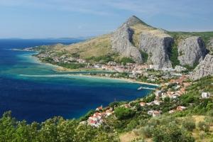 Panorama von Omis