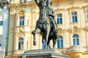 Ban Jelačić Denkmal in Zagreb