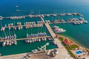 Marina in Seget Donji bei Trogir