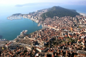 Historischer Komplex der Stadt Split mit dem Palast Kaiser Diokletians