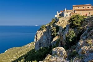 das malerische Dorf Lubenice - Insel Cres