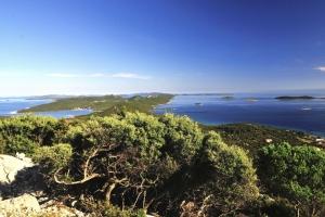 Blick zur Insel Molat - Insel Ist