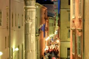 in der Altstadt von Zadar
