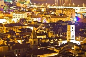 Sibenik - Altstadt bei Nacht
