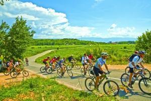 Radtour auf der Insel Krk