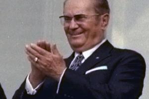 Josip Broz Tito - langjähriger Staatschef des kommunistischen Jugoslawien von 1945 bis 1980