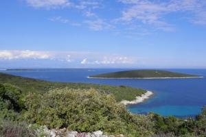 Blick zum Inselchen Kozjak