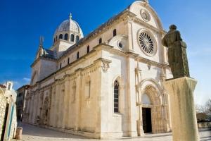Die St. Jakob Kathedrale in Sibenik steht aufgrund ihrer einzigartigen Bauweise unter dem Schutz der UNESCO