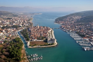 Panorama von Trogir