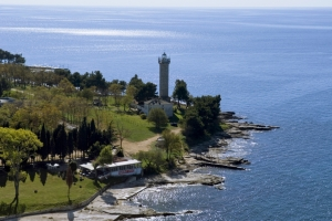 Kroatiens ältester Leuchtturm in Savudrija