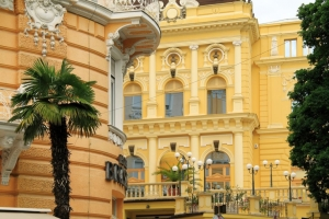 Fassaden in Opatija