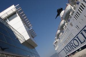 Passagier-Terminal im Hafen von Rijeka