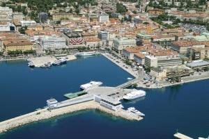 Rijekas Stadtzentrum