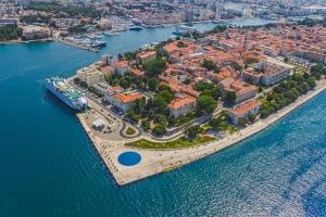 Gruß an die Sonne, Meeresorgel und die Altstadt von Zadar
