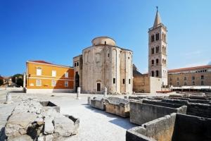 Kirche Sv. Donat in Zadar (9 Jh.)