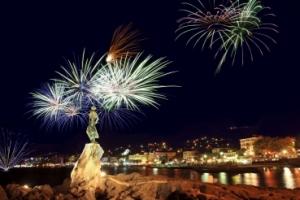 Opatija - Feuerwerk Festival