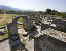 Ruinenstadt und Amphitheater Salona