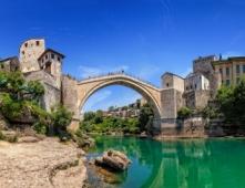Die Alte Brücke und die Altstadt von Mostar (UNESCO)