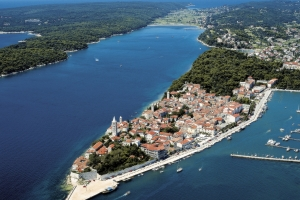 The town of Rab