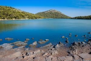 Mir Lake in Telascica Nature Park