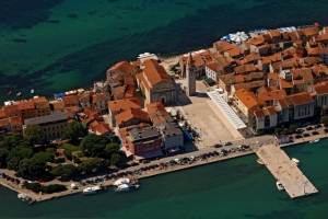 Aerial view of Umag