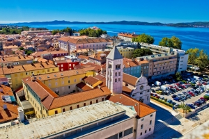 St Mary church and monastery in Zadar