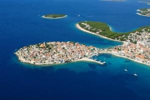 Luftbild von Primosten