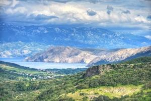 Ein Blick in das Tal von Baska