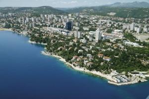 Rijeka aus der Luft