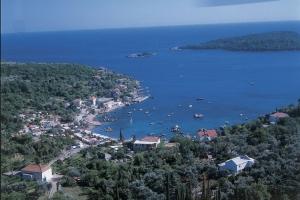 Zupski zaljev Bay nearby Dubrovnik