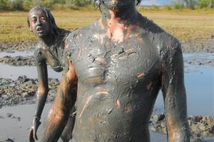 Healing mud in Nin