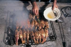 Grilled barbels