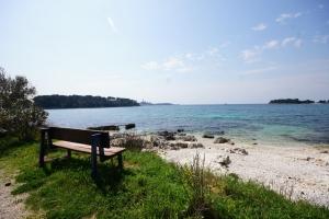 Bucht Lesso nördlich von Rovinj