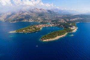 Das malerisch gelegene Cavtat, in der Nähe von Dubrovnik ganz im Süden Dalmatiens