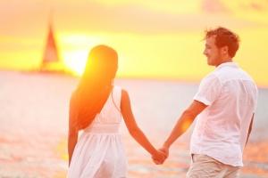 Romantische Strände