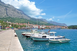 Uferpromenade in Makarska