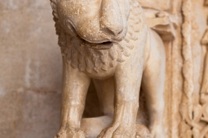 Detail am Eingang zur Kathedrale in Trogir