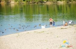 Strand Veliko jezero - jug