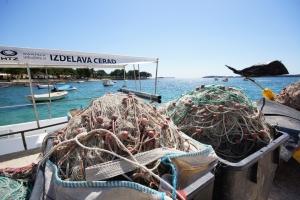 Fischernetze in Fazana