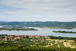 Turanj and Pasman island in the background