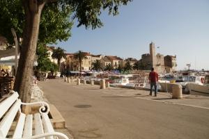 Komiza - Hafen
