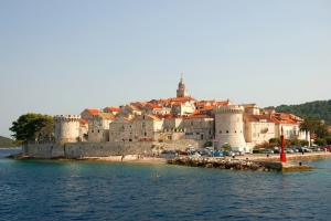 Korcula from the sea