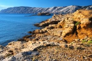 Sandstein-Landschaft in Lopar