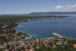 Luftaufnahme von Malinska